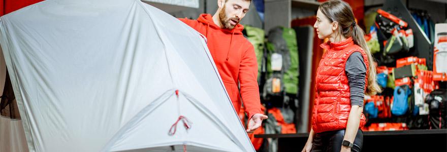 tente de camping choisir